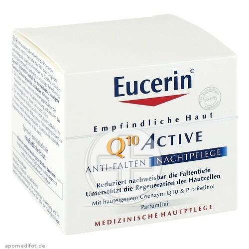 Beiersdorf AG Eucerin EUCERIN EGH Q10 Active Nachtcreme 00921421