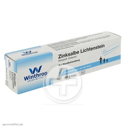 Zentiva Pharma GmbH ZINKSALBE 03502104