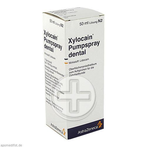 Aspen Germany GmbH XYLOCAIN PUMPSPRAY DENTAL 03839499