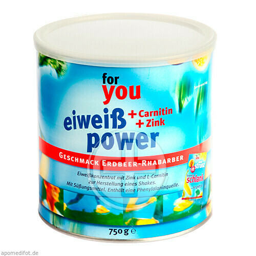 For You eHealth GmbH FOR YOU eiweiß power Erdbeere 06147566