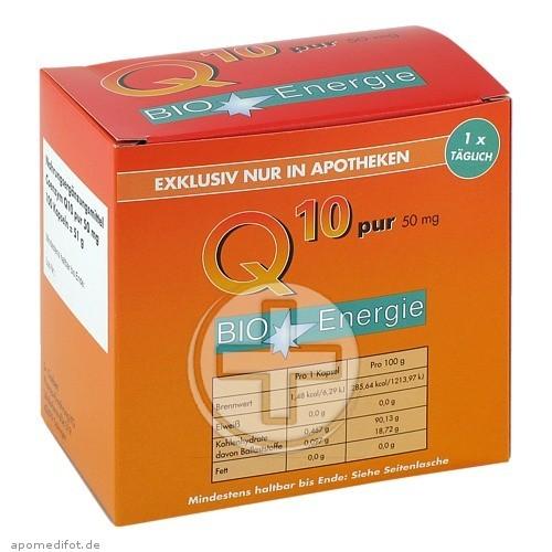 Aufderhöher-Apotheke Q10 PUR 50 mg Kapseln 07339776