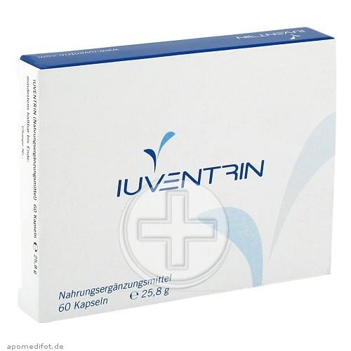 Providus-Diagnostics IUVENTRIN Potenzmittel natürl.Inhaltsstoffe Kaps. 09649506