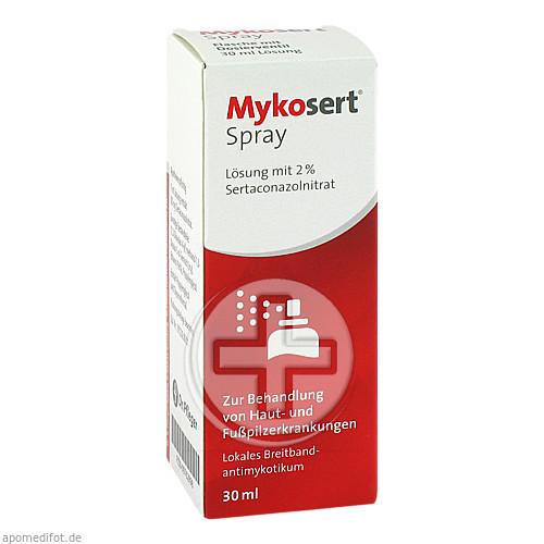 Dr. Pfleger Arzneimittel GmbH MYKOSERT Spray 09762898