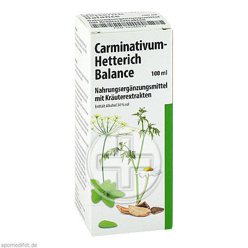 Teofarma s.r.l. CARMINATIVUM Hetterich Balance Tropfen z.Einnehmen 10346573