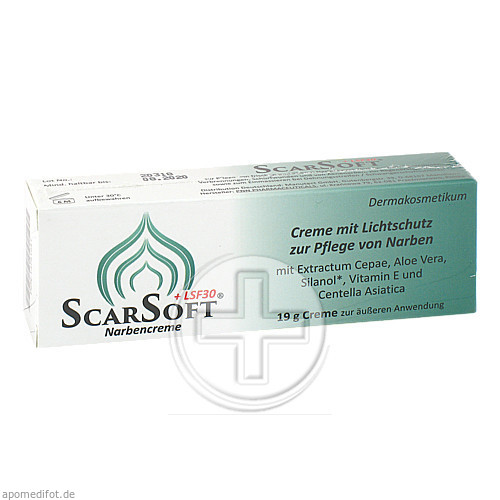 Laves-Arzneimittel GmbH SCARSOFT LSF 30 Narbencreme 13751541
