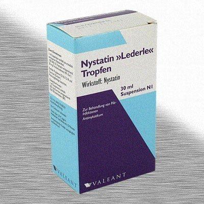 MEDA Pharma GmbH & Co.KG NYSTATIN LEDERLE Tropfen m. Pipett. 04900700