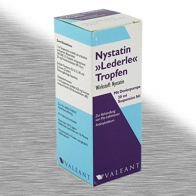 MEDA Pharma GmbH & Co.KG NYSTATIN LEDERLE Tropfen m. Dosierpumpe 04900717