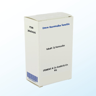 SIEMENS & Co GmbH & Co. KG EMSER Nasensalbe Sensitiv 03843495